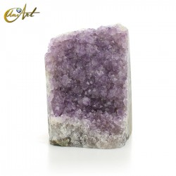 Amethyst rose de france - druse
