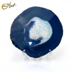 Blue agate sheet