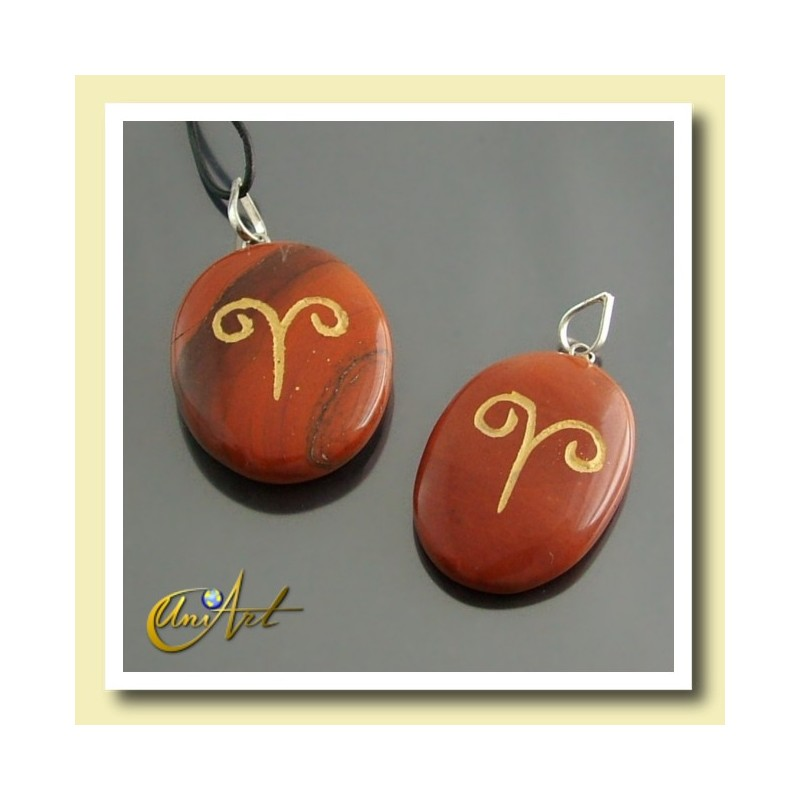Stones of the Horoscope (engraved pendants with the zodiacal signs)