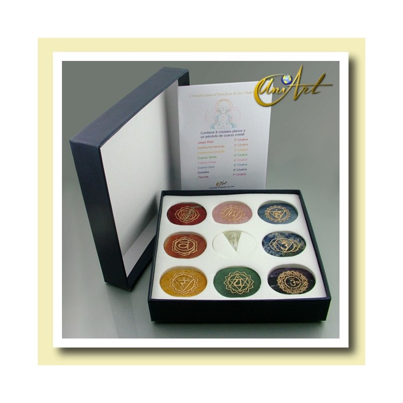 Chakra Set - pack model 2