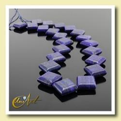 Lapis lazuli beads lozenge format