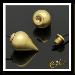 Witness pendulum of bronze
