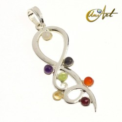 Chakras pendant