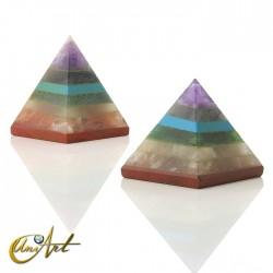 Pirámide de los chakras pequeña