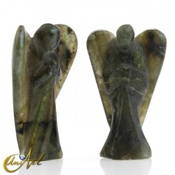 Ángel de Labradorita tallado