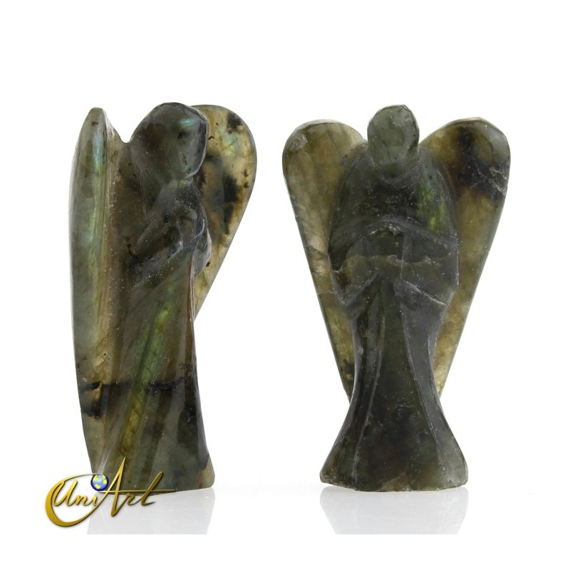 Labradorite Carved Angel