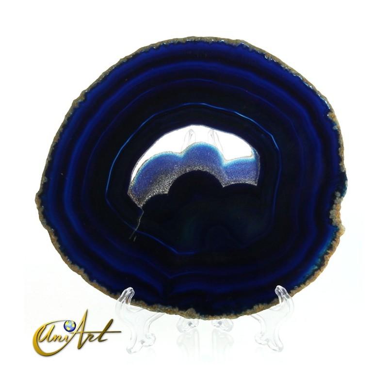 Blue Agate Slice - model 2