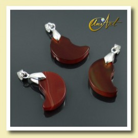 pendant Fang Model of Carnelian