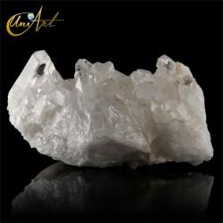 Druse of clear quartz