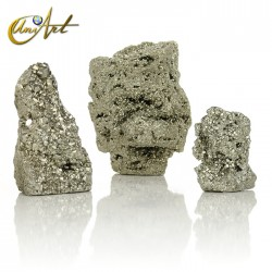Raw pyrite by weight