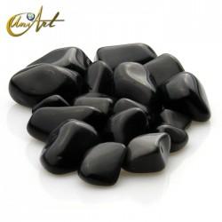 Obsidiana arcoíris - bolsa de cantos rodados 200 gramos