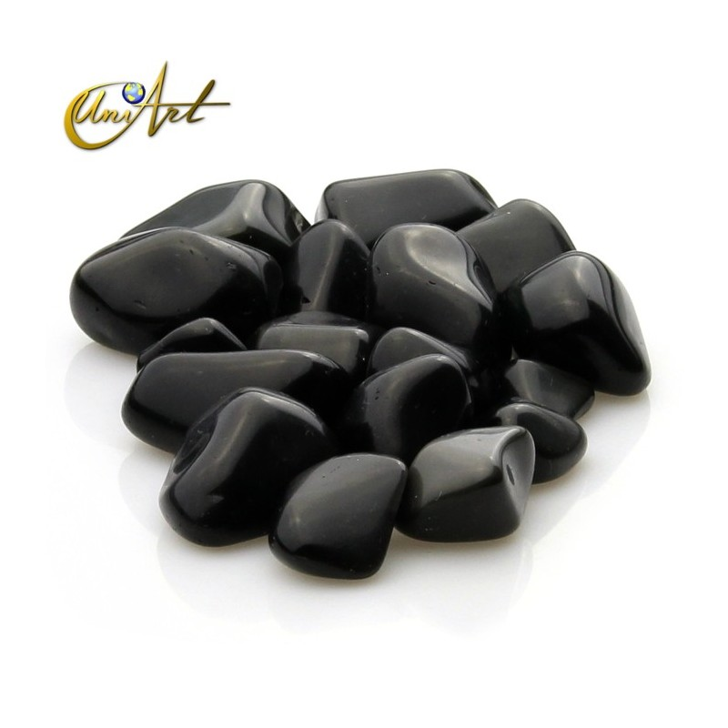 Rainbow obsidian tumbled stones in packet of 200 grs