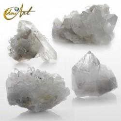 Cuarzo cristal , dusas por peso