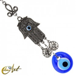 Evil Eye amulet and Fatma´s hand to hang