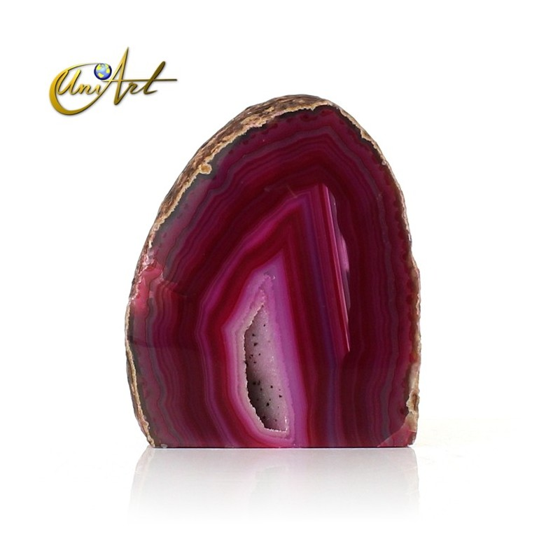 Oval agate geode