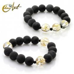 Tibetan bian stone bracelet