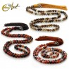 8 mm agate beads tibetan Buddhist Mala