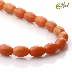 Olive Aventurine orange trinket