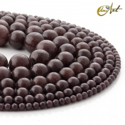 Brown aventurine balls