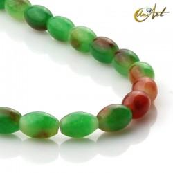 Bicolor jade olives