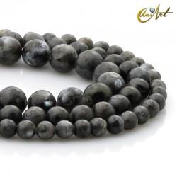 Natural labradorite beads