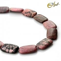 Rondonite rectangular bead