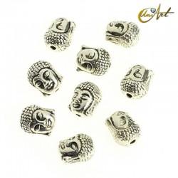 10 Buddha head beads