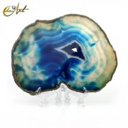 Ágata azul - lámina modelo 3