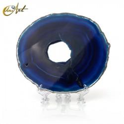 Ágata azul - lámina modelo 4