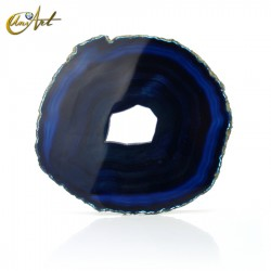 Blue Agate Slice - model 4