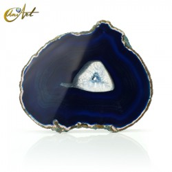 Blue Agate Slice - model 5