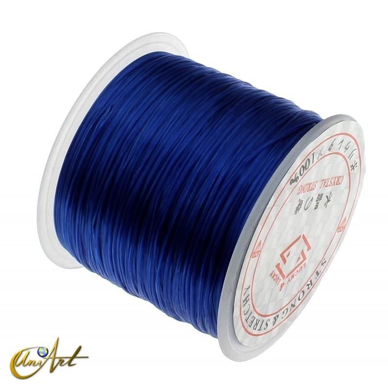Goma elástica para bisutería - azul