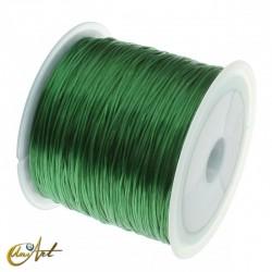 Goma elástica para bisutería - verde