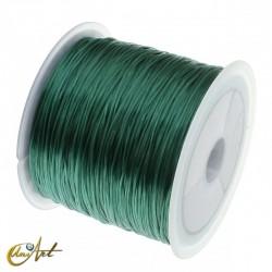 Goma elástica para bisutería - verde viridian