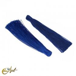 Borla de colores - azul