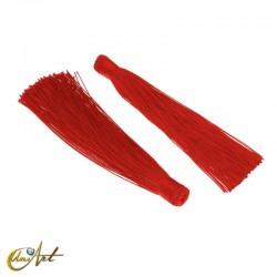 Borla de colores - rojo