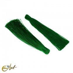 Borla de colores - verde