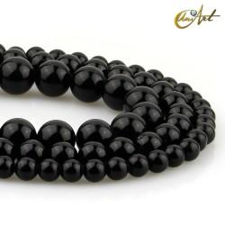 Tiras de bolas de obsidiana negra