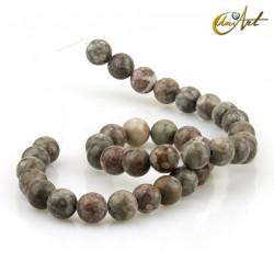 Maifan Stone Strands, 10 mm round beads