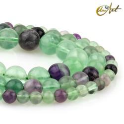 Fluorite round beads