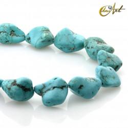 Turquenite tumbled stone beads