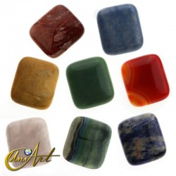 Large rectangular shape cabochon