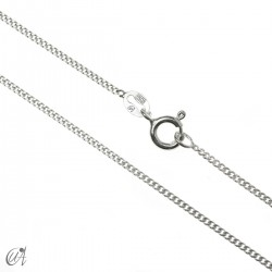 Curb 1.4 mm 925 silver chain