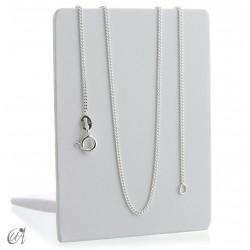 Curb 1.4 mm 925 silver chain