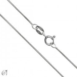 Silver snake chain 0.9mm