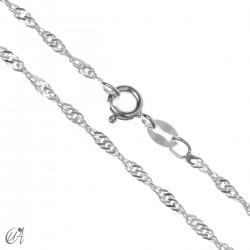 1.9 mm Singapore silver chain