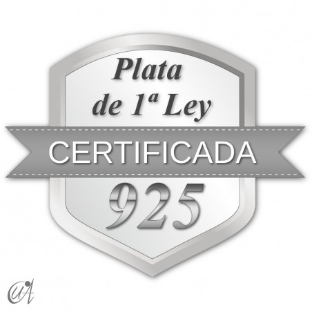 plata de ley certificada