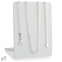 Bismark chain in sterling silver - 3mm