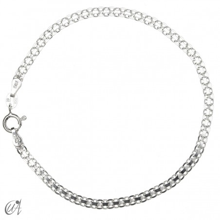 Bismark bracelet chain in sterling silver - 3mm