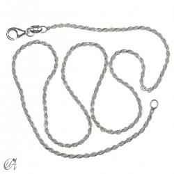 Cadena cuerda 1.6mm - plata 925